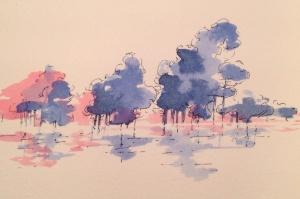 Blue Trees 1